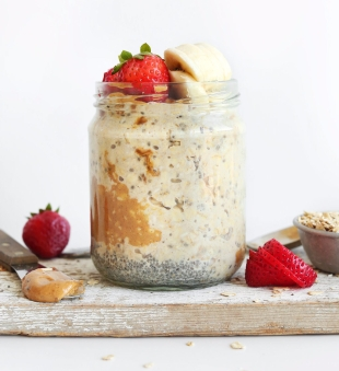 THE-BEST-AMAZING-Peanut-Butter-Overnight-Oats-Just-5-ingredients-5-minutes-prep-and-SO-delicious-vegan-recipe-glutenfree-meal-breakfast-oats-oatmeal