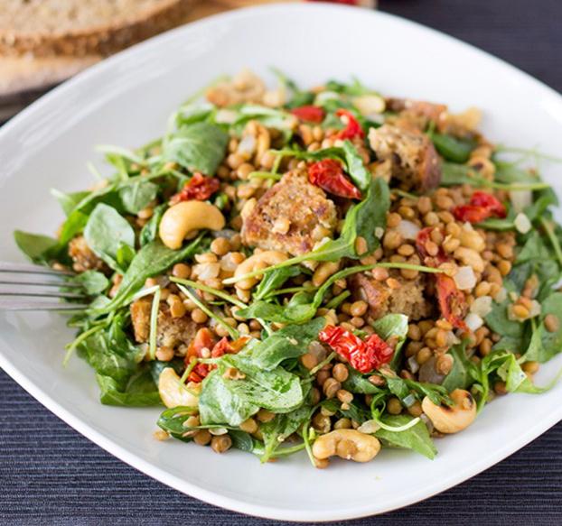 arugula-lentil-salad